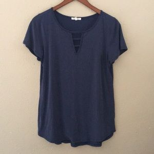 Maurice's Blue Blouse